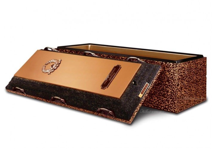 Copper Triune Vault by Wilbert Premium Protection